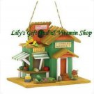 Farmer's Market BIRDHOUSE Store Outdoor SPRING TIME Garden Bird Houses (#38278)