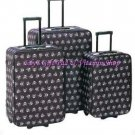 SKULL LUGGAGE TRIO 3 Piece Wheeled Luggage Bag Travel SUITCASES Suit Case #12930