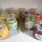 FRUIT SCENTED Jar CANDLE Berry Pear Mango Lime Raspberry NATURAL WAX Mia Bella's