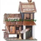 Bait Shop BIRDHOUSE Bass Lake Lodge Outdoor SPRING TIME Garden Birds (#31245)