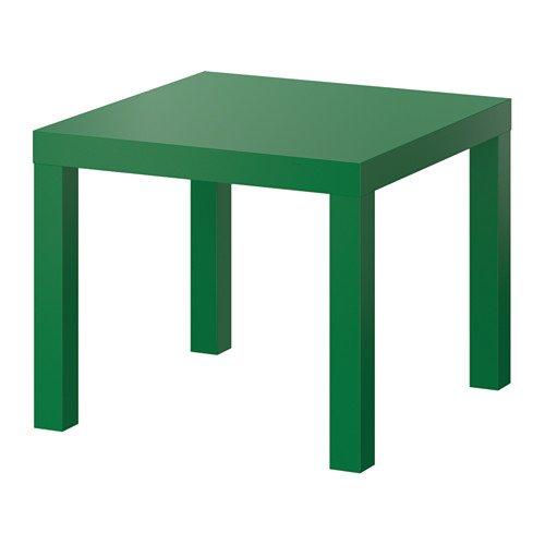 IKEA Lack Side End Coffee Table/Green/ 55x55 cm