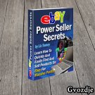 Ebay Power Seller Secrets Ebook PDF Free Shipping Master Resell Rights E-Book