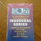 1991 Pro Set World League Complete 150 Card Set Factory Sealed