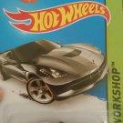 2014 HotWheels Stingray Corvette Diecast Car #216/250
