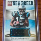 2012 ELITE NEW BREED JERSEYS #32 JOE ADAMS /399