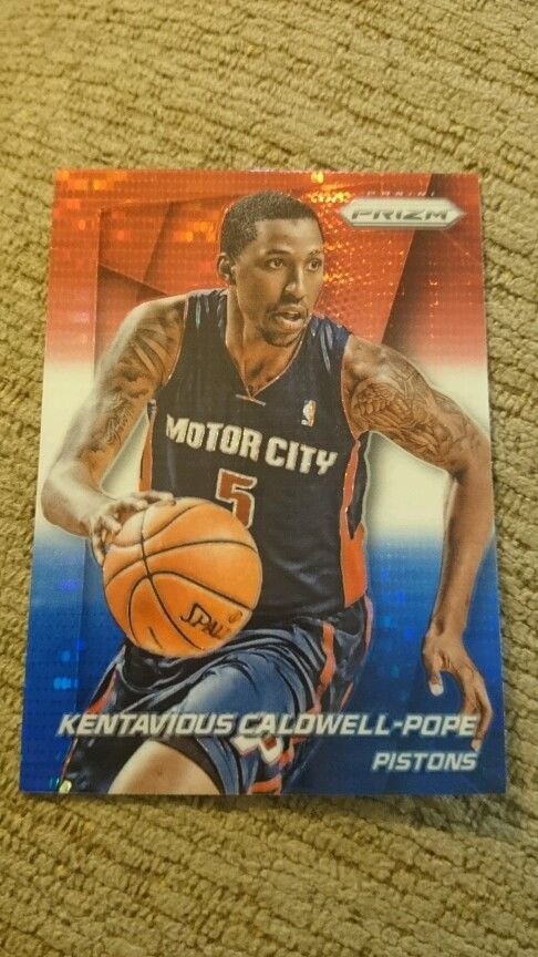 2014 Panini Prizm Red White and Blue  Kentavious Caldwell-Pope Basketball Card