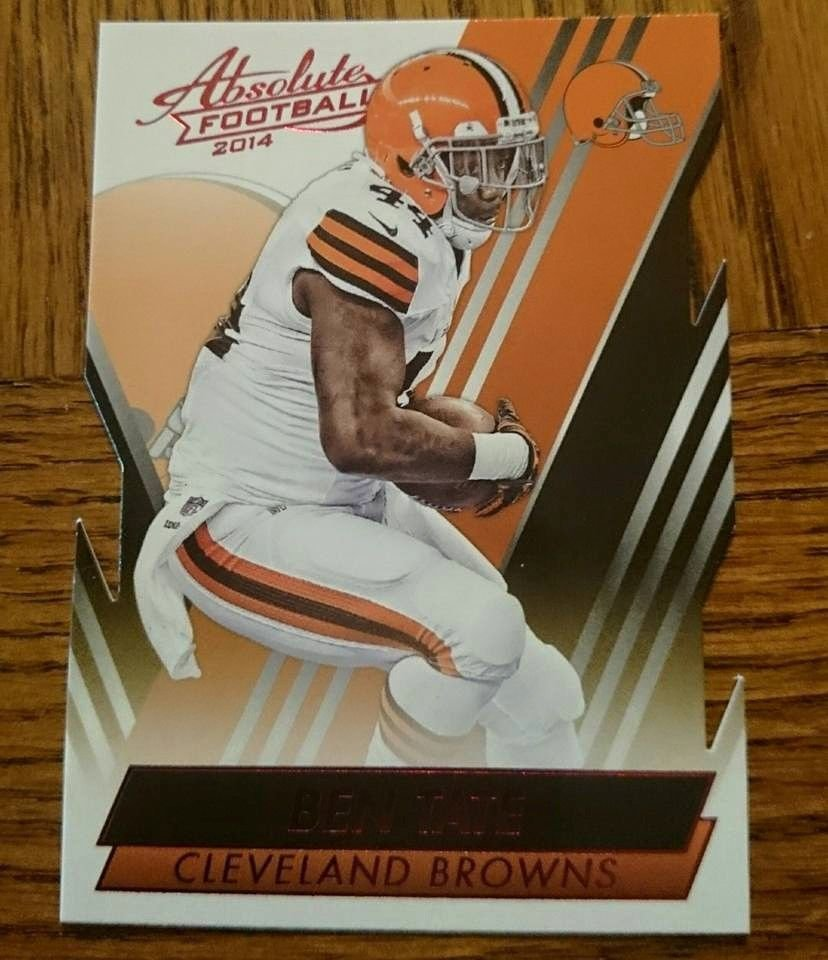 2014 Absolute Red #47 Ben Tate Cleveland Browns