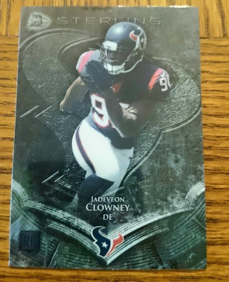 2014 BOWMAN STERLING #5 JADEVEON CLOWNEY RC Houston Texans