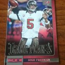 2013 Panini ROOKIES AND STARS GAME PLAN #24 JOSH FREEMAN Tampa Bay Buccaneers