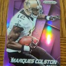 2014 PANINI PRIZM PRIZMS PURPLE #196 MARQUES COLSTON New Orleans Saints
