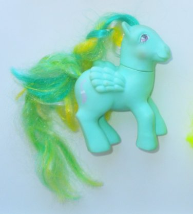 1985 Hasbro G1 My Little Pony MLP Unicorn Brush N' Grow Braided Beauty