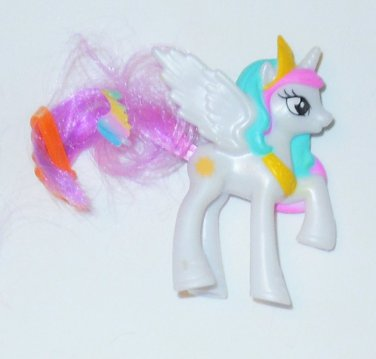 2014 Hasbro McDonald's MLP Happy Meal #4 Friendship is Magic Princess Celestia