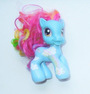 "2008 Hasbro My Little Pony G3 MLP 3"" Rainbow Dash Variant I"