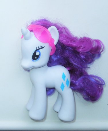 2011 Hasbro My Little Pony G4 MLP Unicorn Rarity