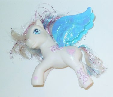 2004 Hasbro My Little Pony G3 MLP Pegasus Star Catcher Fabric Wings