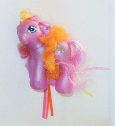 2003 Hasbro My Little Pony G3 MLP Pink Sunsparkle Baby Pony