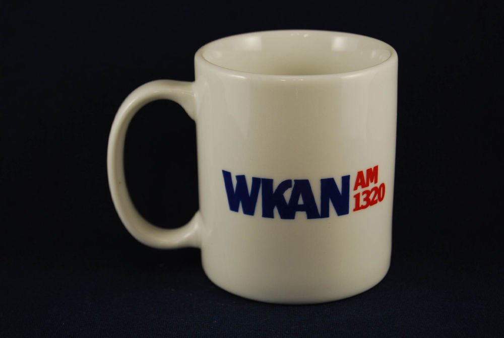 Kankakee IL WKAN 1320 AM WLRT T93 FM Ceramic Coffee Mug Cup Illinois