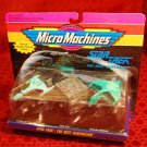 STAR TREK Micro Machines Next Generation Klingon Borg Romulan Ships (1993)