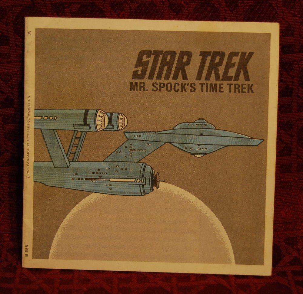 STAR TREK Vintage Mr. Spock's Time Trek View-Master Booklet ONLY (1974)