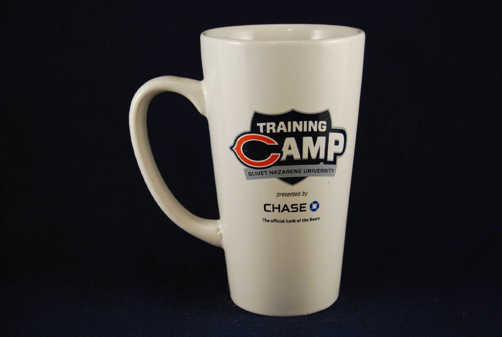 Chicago Bears NFL Ceramic Coffee Mug Cup Training Camp Olivet Bourbonnais