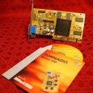 Inno3D Tornado GeForce2 MX 200 VGA AGP 32MB DirectX 7 NVIDIA OpenGL SDR SDRAM