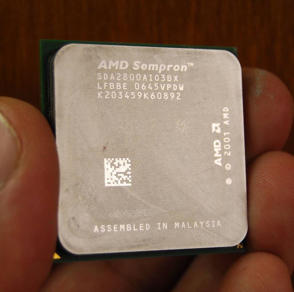 AMD Sempron 2800+ 1.6 GHz (SDA2800AIO3BX) Processor