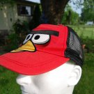 ANGRY BIRDS Embroidered Adjustable Snapback Ball Cap Hat (2011)