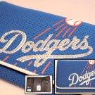Official Licensed MLB LA Dodgers Organizer Mesh Wallet with Swarovski Crystal Bling
