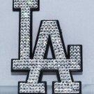 Official Licensed MLB Los Angeles LA Dodgers Car Emblem with Swarovski Crystal Bling