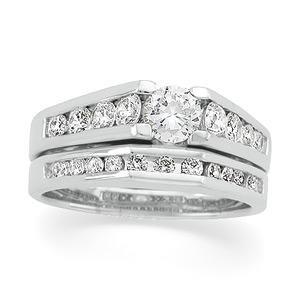 Platinum Bridal Set Rings