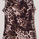 Women's Animal Print Top Size XL by Worthington