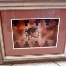 "Southwest Navajo ""Looking for a Dance Parner"" Picture Signed Print byYazzi"
