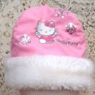 Girls Pink Hello Kitty Hat