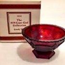 AVON CAPE COD COLLECTION AVON SERVING BOWL PLATE GLASSWARE