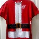 Christmas Santa Red T-Shirt Size Large