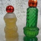 Avon Moonwind Cologne Holiday Christmas Decanters