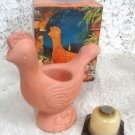 Avon Terra Cotta Bird Fragrance Candle Holder