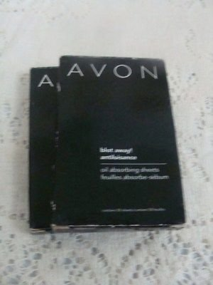 Avon Blot Away Oil Adsorbing Sheets Set (2) - (NEW)