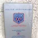 Silver Anniversary  Super Bowl XXV Special EditionCollectors Album w/ Cards
