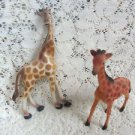 Giraffe Collectible Figurines Set of (2)