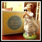 Avon Wishful Thoughts Porcelain Figurine - (NICE)