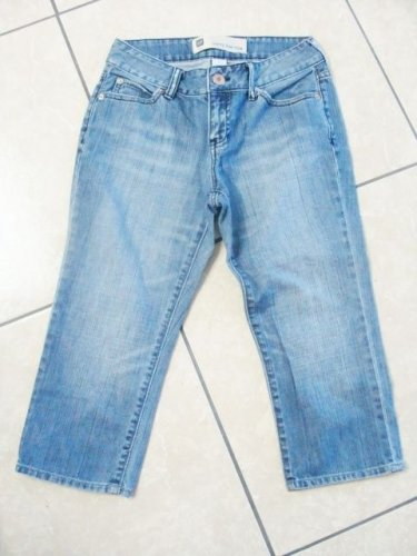 Mid-Rise GAP GIRLS LADIES CAPRI PANTS BLUE JEANS DENIM SIZE 0