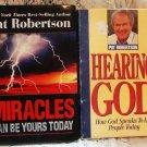 Pat Robertson Hearing God Audio & Signed Book - L@@K!