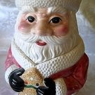 Cookie Jar House of Lloyd Santa Claus- (Collectible)