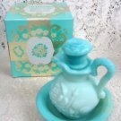Avon Victoriana Pitcher & Bowl  Skin-so-Soft Bath Oil Decanter