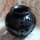 Black Southwest Vase Collectible Unique