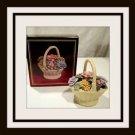 Avon Porcelain Floral Bouquet  - (NICE)