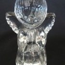 Crystal Angel Candle Holder Figurine