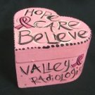 Hope Care & Believe Cancer Awareness Trinket Box