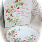 Avon Strawberry Porcelain Plate